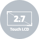 2.7 LCD